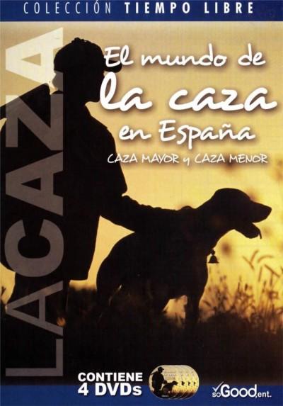 El Mundo De La Caza En España - Caza Mayor Y Caza Menor (Digipack 4 DVD´S)