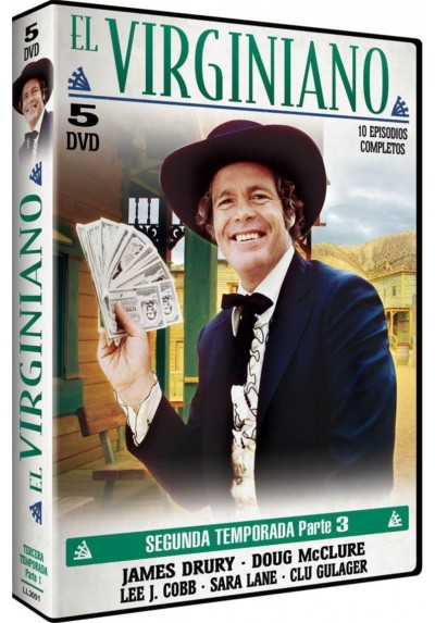 El Virginiano : 2ª Temporada - 3ª Parte (The Virginian)