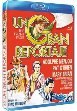Un Gran Reportaje (Blu-Ray) (Bd-R) (The Front Page)