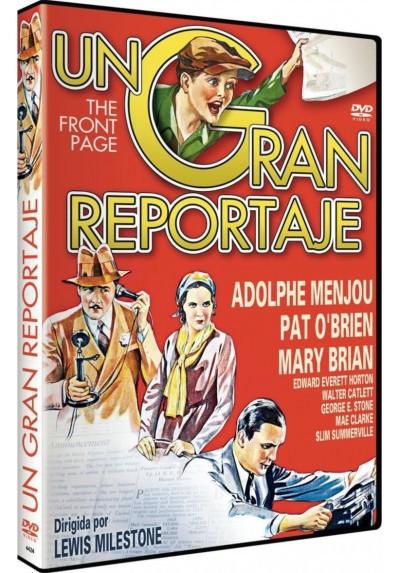 Un Gran Reportaje (The Front Page)