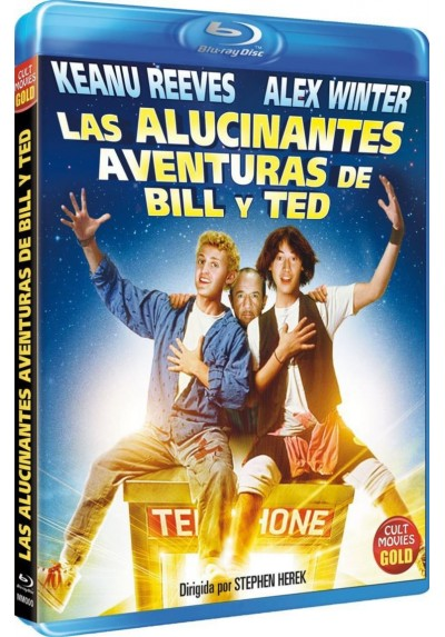 Las Alucinantes Aventuras De Bill Y Ted (Blu-Ray) (Bill & Ted'S Excellent Adventure)