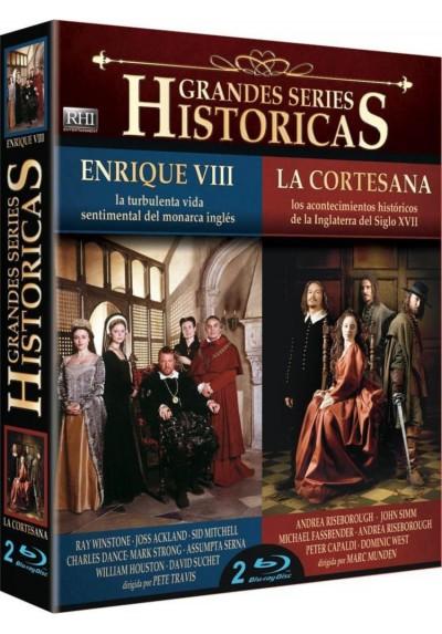 Pack Grandes Series Historicas: Enrique VIII (Henry VIII) / La Cortesana (The Devil's Whore)([Blu-ray)