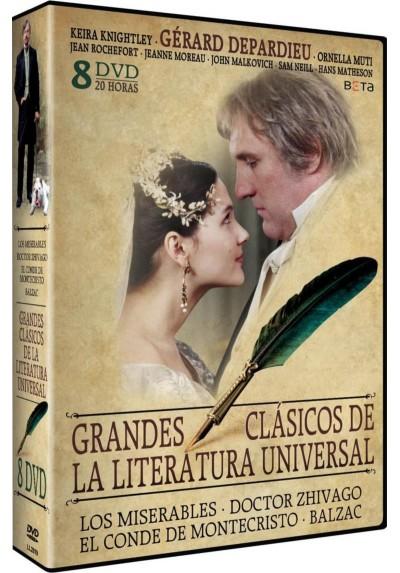 Pack Grandes Clasicos de la Literatura Universal: Los Miserables / Doctor Zhivago/ El Conde de Montecristo