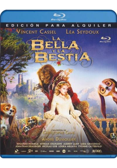 La Bella Y La Bestia (2014) (Blu-Ray) (La Belle Et La Bête)