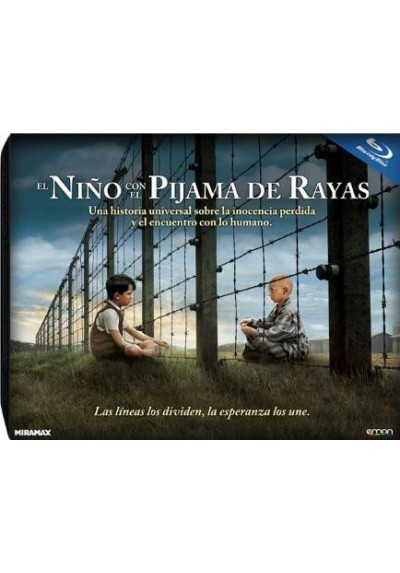 El Niño Con El Pijama De Rayas (Blu-Ray) (Ed. Horizontal) (The Boy In The Striped Pyjamas)