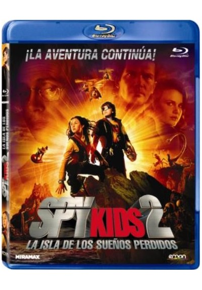 Spy Kids 2 : La Isla De Los Sueños Perdidos (Spy Kids 2: Island Of Lost Dreams) (Blu-Ray)