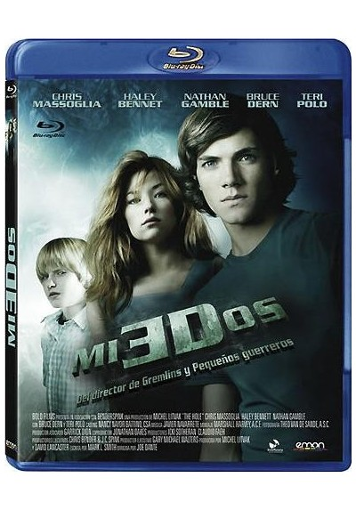 Miedos 3D (Blu-Ray) (The Hole 3D)