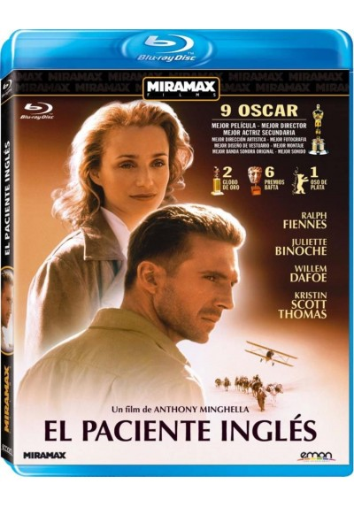 El Paciente Ingles  (Blu-Ray) (The English Patient)