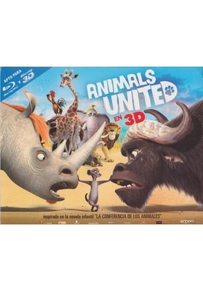 Animals United (Blu-Ray 3d) (Die Konferenz Der Tiere) (Ed.Horizontal)