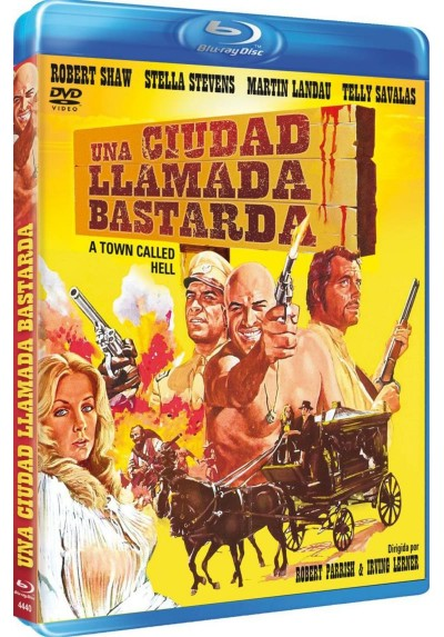 Una Ciudad Llamada Bastarda (Blu-Ray) (A Town Called Hell)