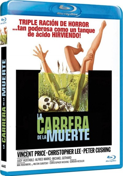 La Carrera De La Muerte (1970) (Blu-Ray) (Scream And Scream Again)