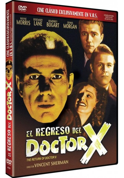 El Regreso Del Doctor X (V.O.S) (The Return Of Doctor X)