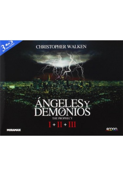 Angeles Y Demonios - Trilogia (Blu-Ray) (Ed.Horizontal)
