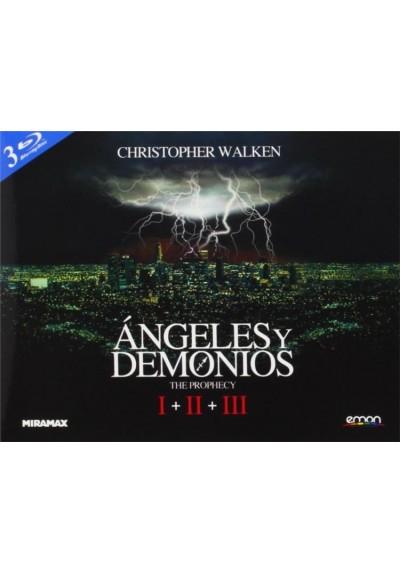 Angeles Y Demonios - Trilogia (Blu-Ray) (Ed.Horizontal)