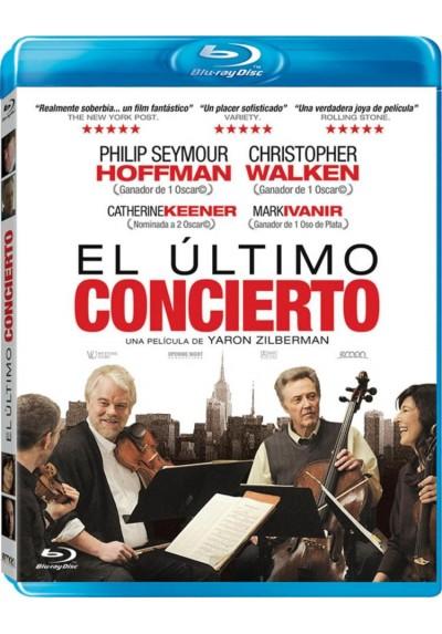 El Ultimo Concierto (Blu-Ray) (A Late Quartet)