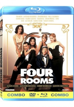 Four Rooms (Blu-Ray + Dvd)