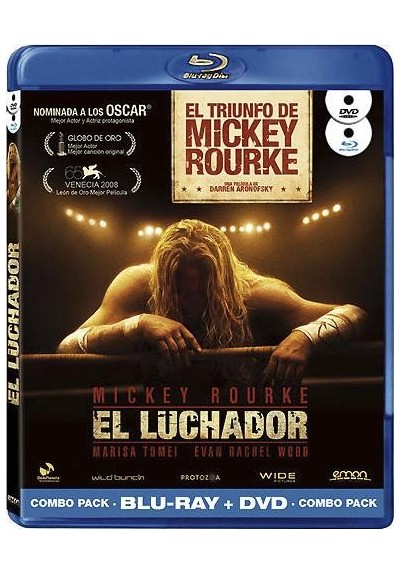 El Luchador (2008) (Blu-Ray + Dvd)(The Wrestler)