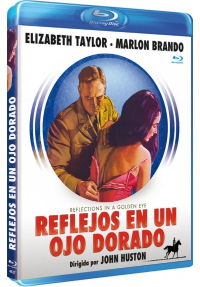 Reflejos En Un Ojo Dorado (Blu-Ray) (Reflections In A Golden Eye)