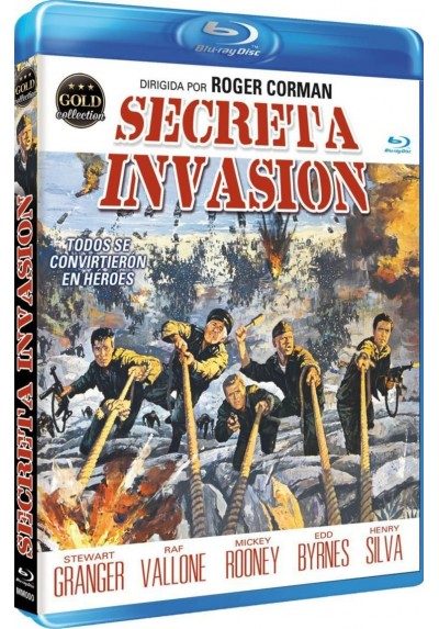 Secreta Invasion (Blu-Ray) (The Secret Invasion)