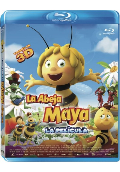La Abeja Maya - La Pelicula (Blu-Ray 3d + Blu- Ray)