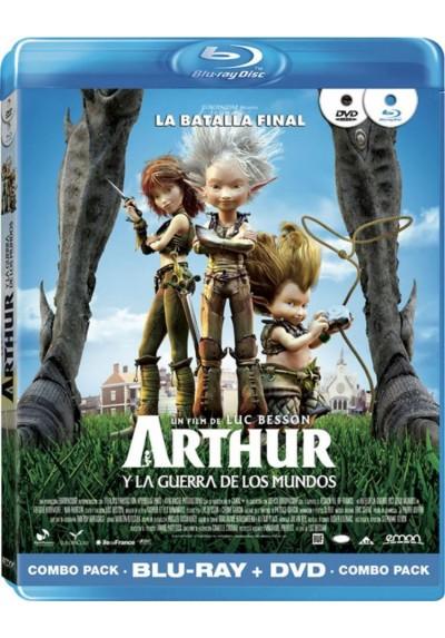 Arthur Y La Guerra De Los Mundos (Blu-Ray + Dvd) (Arthur Et La Guerre Des Deux Mondes)