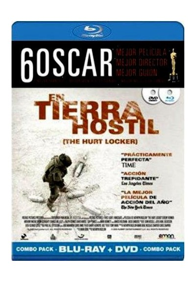 En Tierra Hostil (Blu-Ray) (Blu-Ray + Dvd) (The Hurt Locker)