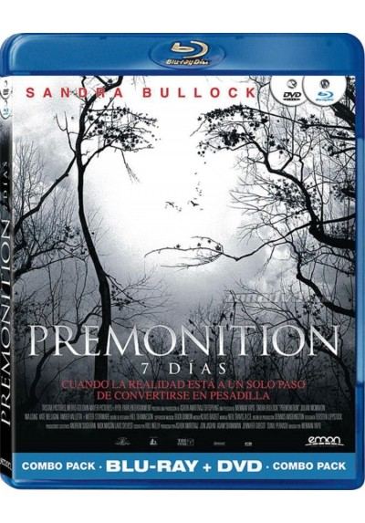 Premonition, 7 Dias (Blu-Ray + Dvd)