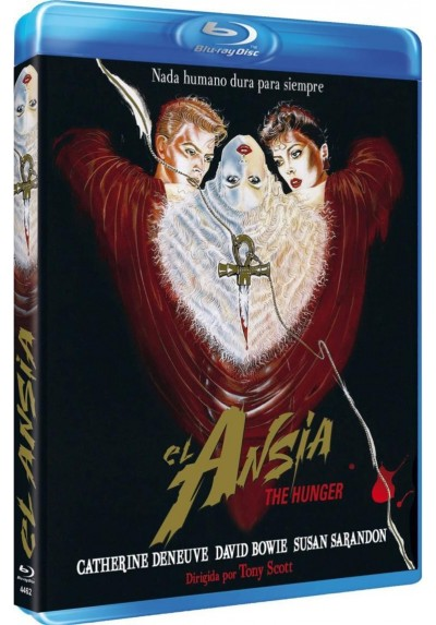 El Ansia (The Hunger) (Blu-Ray)