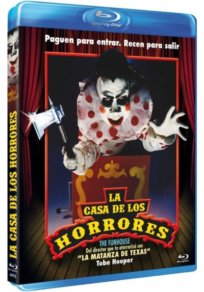 La Casa De Los Horrores (Blu-Ray) (The Funhouse)