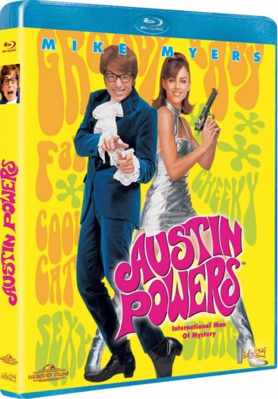 Austin Powers (Blu-Ray) (Austin Powers: International Man Of Mystery)