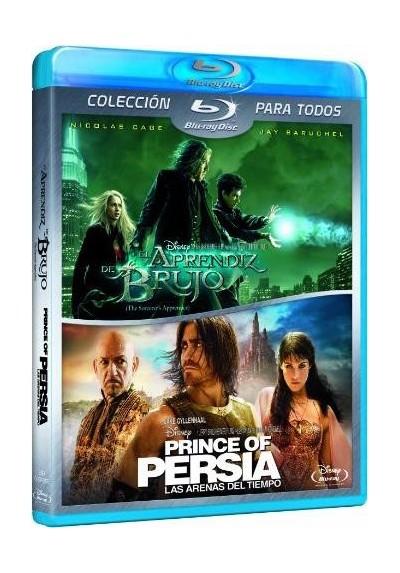 Pack Prince Of Persia : Las Arenas Del Tiempo / El Aprendiz De Brujo(Blu-Ray)