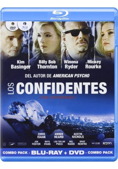 Los Confidentes (Blu-Ray + Dvd) (The Informers)