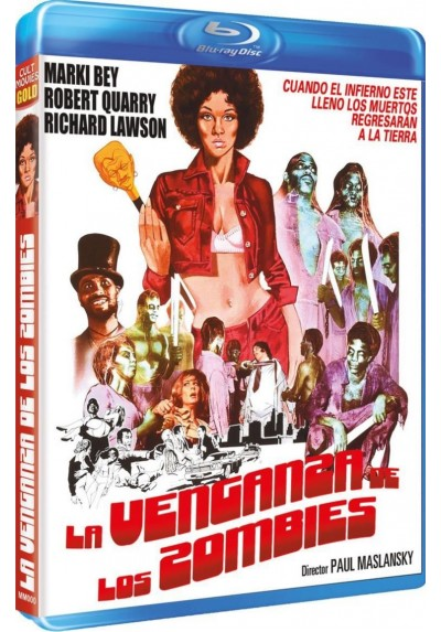 La Venganza De Los Zombies (Blu-Ray) (Sugar Hill)
