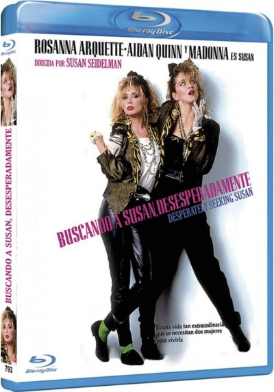 Buscando A Susan Desesperadamente (Blu-Ray) (Bd-R) (Desperately Seeking Susan)