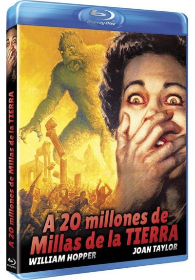 A 20 Millones De Millas De La Tierra (Blu-Ray) (20 Million Miles To Earth)