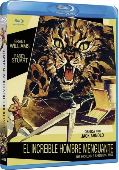 El Increible Hombre Menguante (Blu-Ray) (The Incredible Shrinking Man)