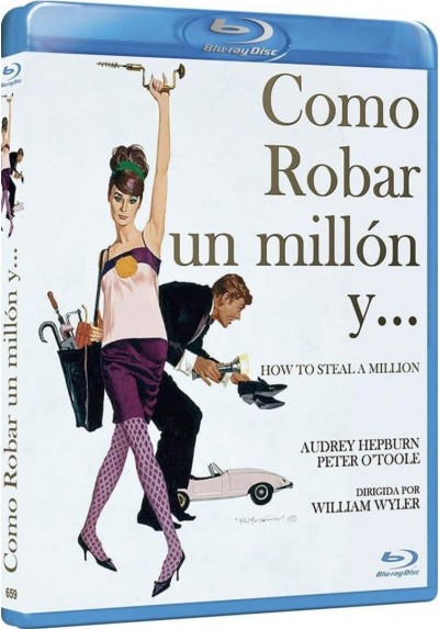Como Robar Un Millon Y... (Blu-Ray) (Bd-R) (How To Steal A Million)