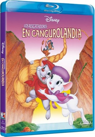 Los Rescatadores En Cangurolandia (Blu-Ray) (The Rescuers Down Under)