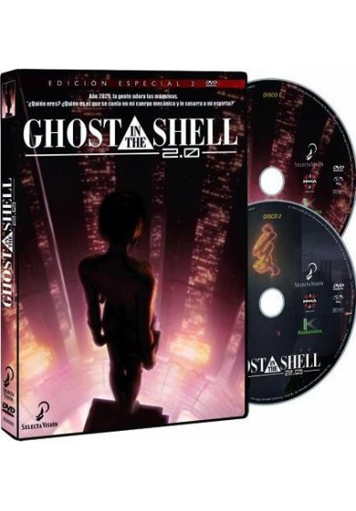 Ghost In The Shell 2.0 (Ed. Especial)