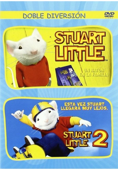 Pack Stuart Little, Un Raton En La Familia / Stuart Little 2