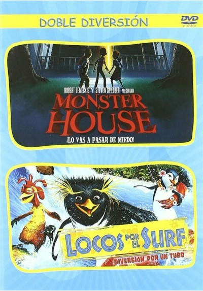 Pack Monster House / Locos Por El Surf