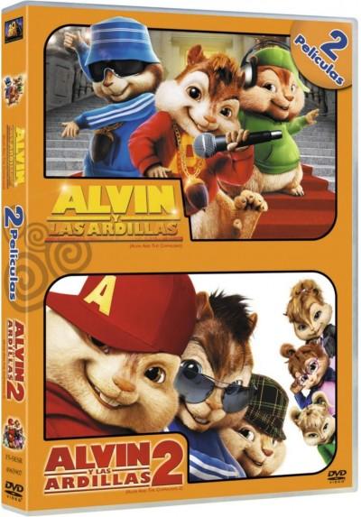 Pack Alvin Y Las Ardillas / Alvin Y Las Ardillas 2
