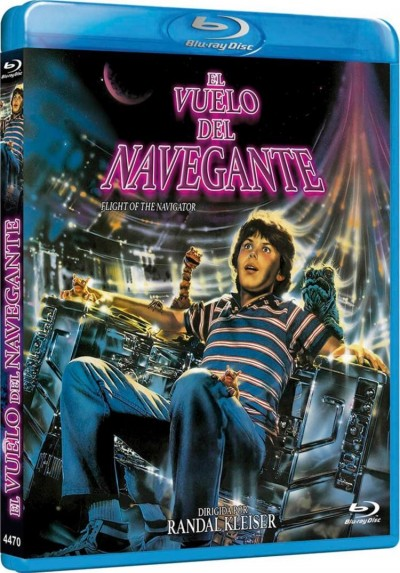 El Vuelo Del Navegante (Blu-Ray) (Flight Of The Navigator)