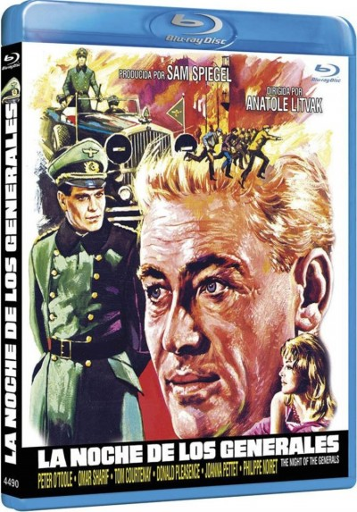 La Noche De Los Generales (Blu-Ray) (The Night Of The Generals)