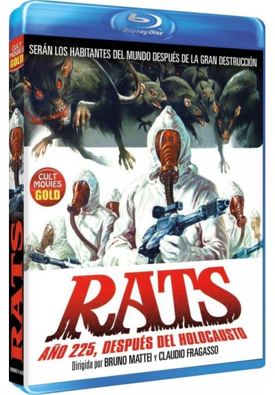 Rats Año 225, Despues del Holocaust (Blu-Ray) (BD-R)