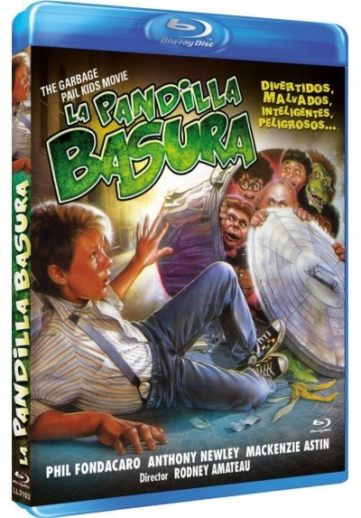 La pandilla basura (The Garbage Pail Kids Movie) (Blu-Ray)