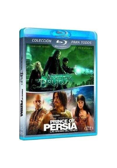 Pack Prince Of Persia : Las Arenas Del Tiempo / El Aprendiz De Brujo (Blu-Ray)