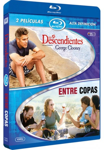 Pack Los Descendientes / Entre Copas (Blu-Ray)