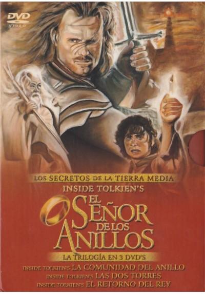 Pack El Señor De Los Anillos - Los Secretos De La Tierra Mitica - Trilogia (Documental)