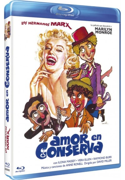 Amor En Conserva (Blu-Ray) (Bd-R) (Love Happy)